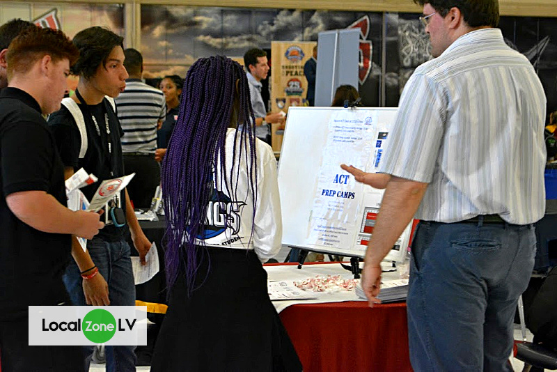 Local Las Vegas High School Students Prepare for the Future